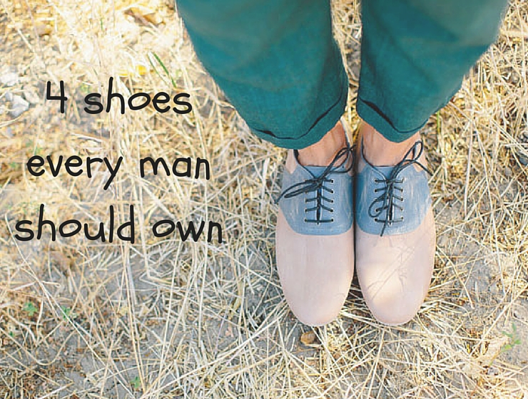 4 shoes every man should own