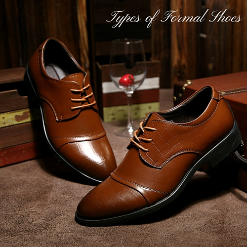 6 types of men s formal shoes